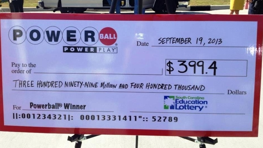 check powerball ticket photo - 1