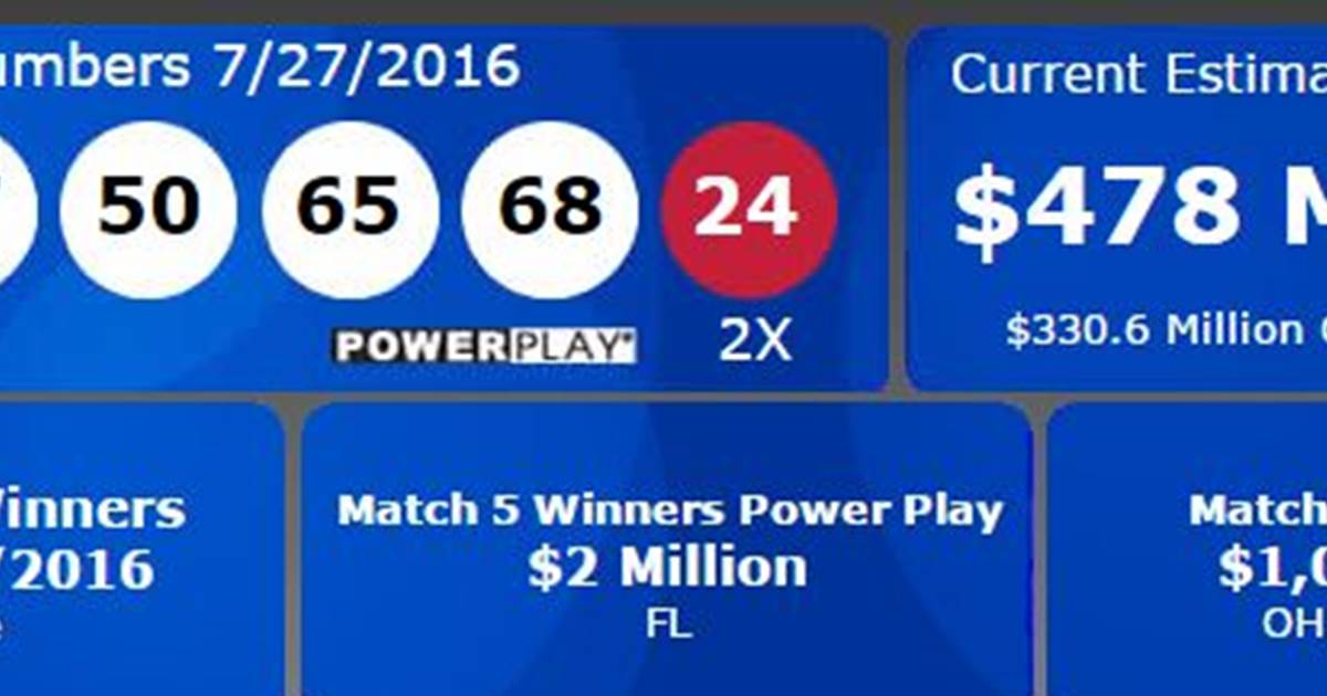 july 30 powerball numbers photo - 1