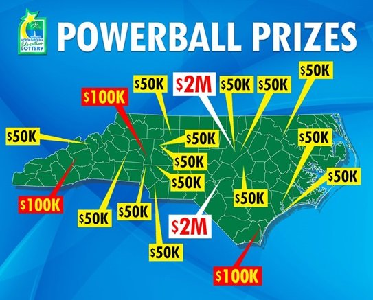 match two numbers on powerball photo - 1