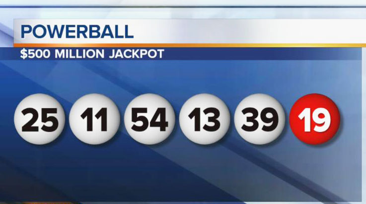matched two numbers on powerball photo - 1