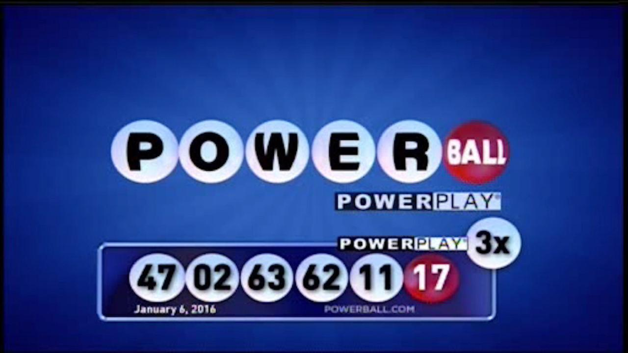 powerball history numbers photo - 1