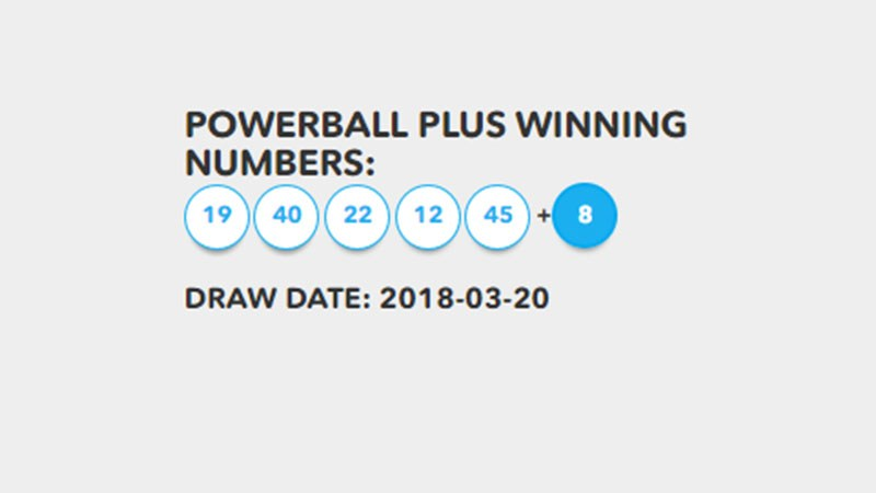 powerball march 3 2018 photo - 1
