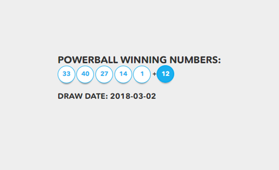 powerball two numbers correct photo - 1