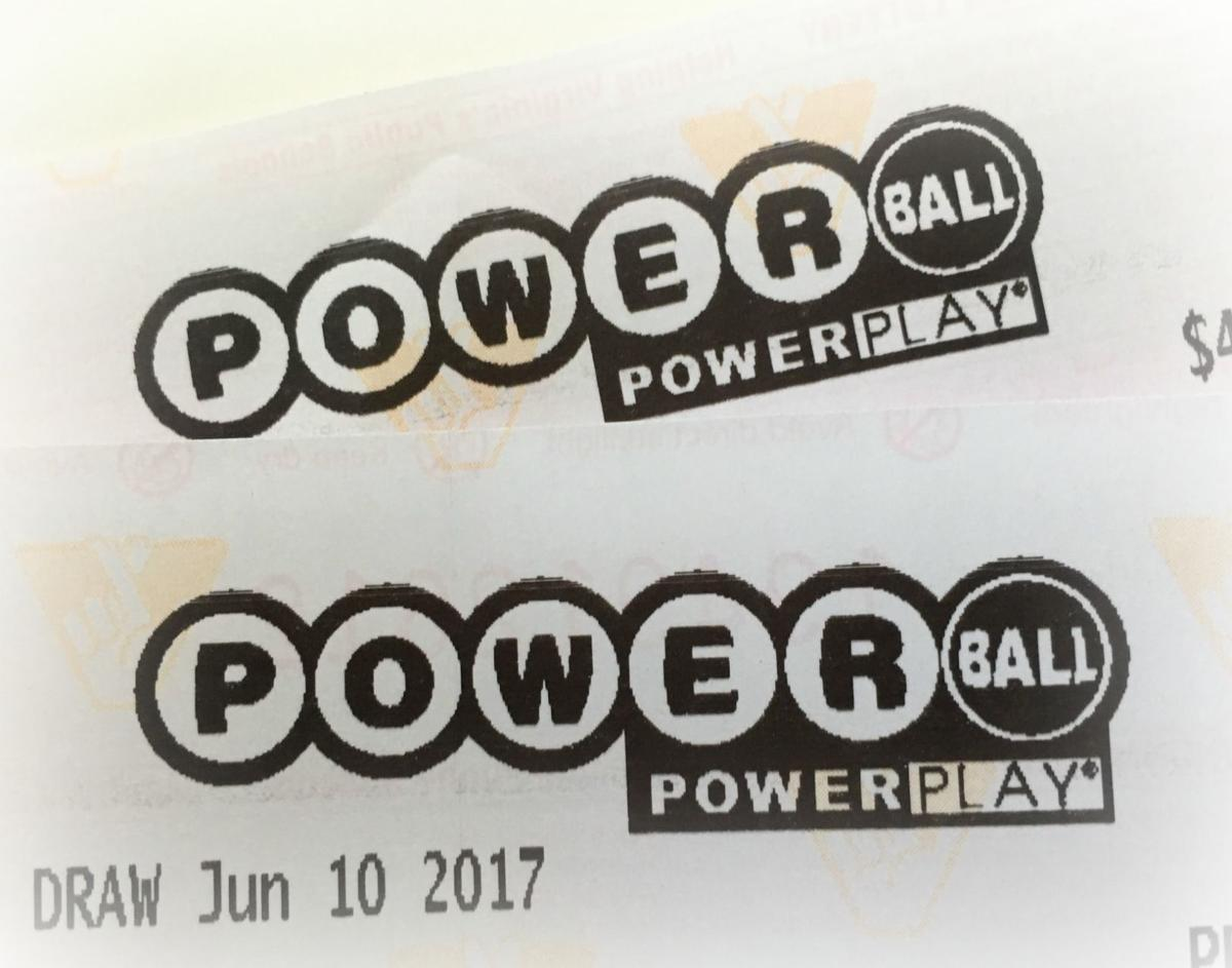 two numbers and powerball photo - 1