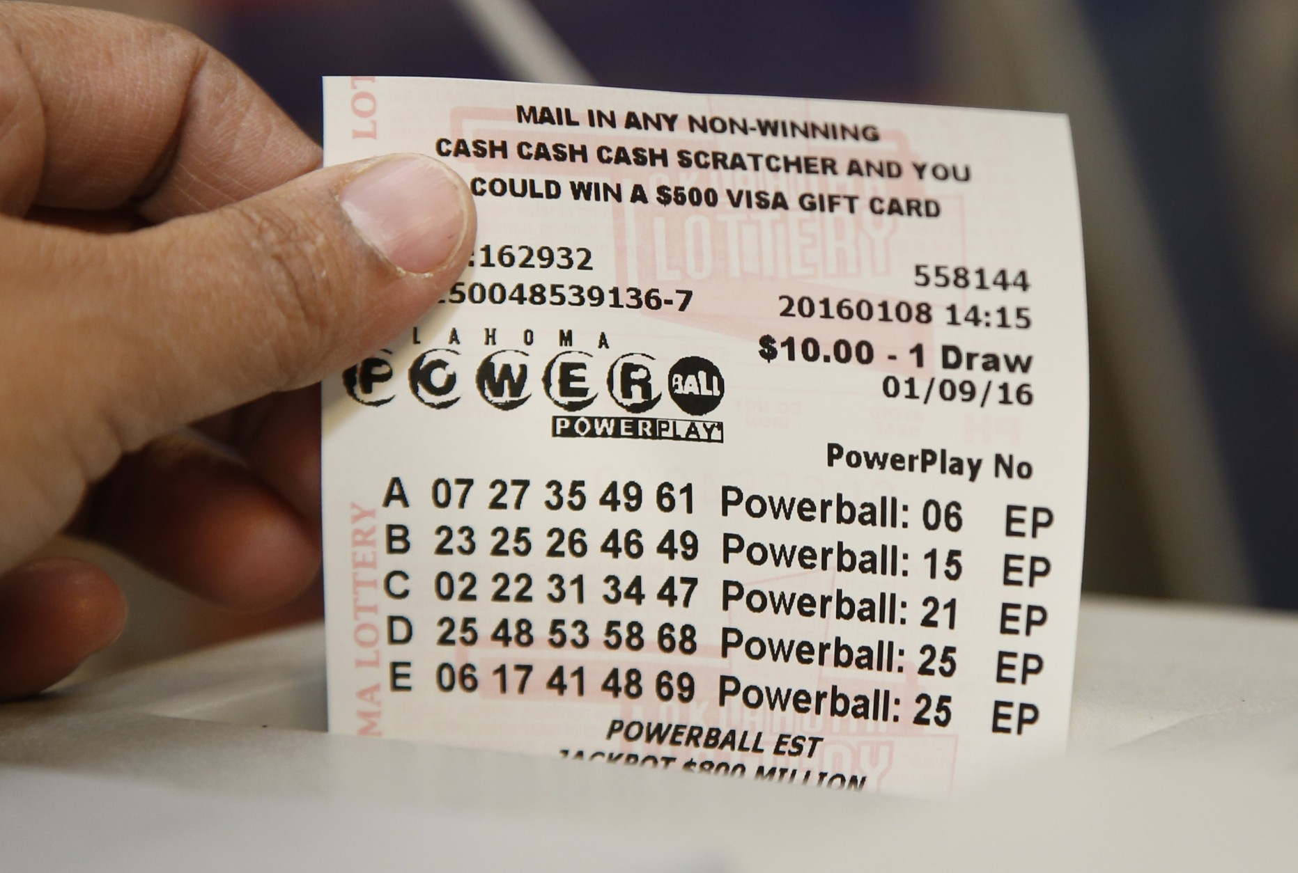 what time is powerball drawing in az photo - 1