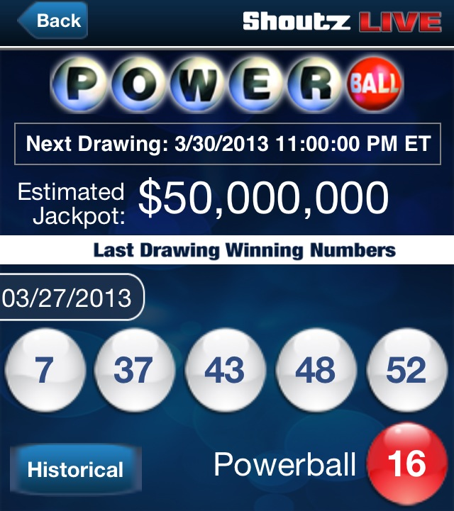 what were the last powerball numbers photo - 1