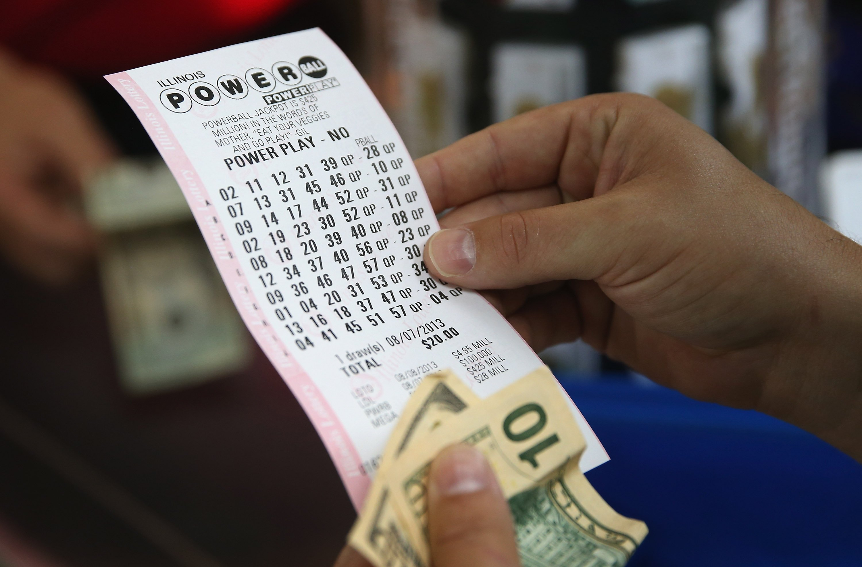 when was the last time someone won the powerball photo - 1