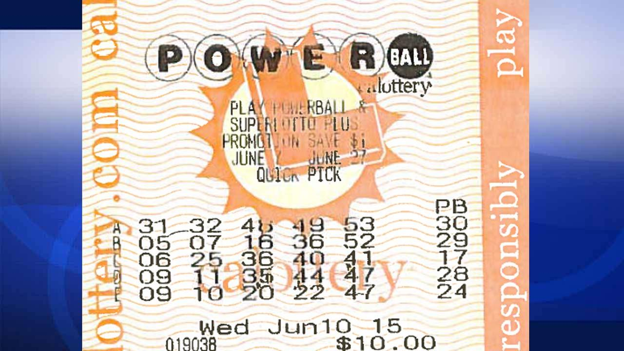 buying a powerball ticket photo - 1