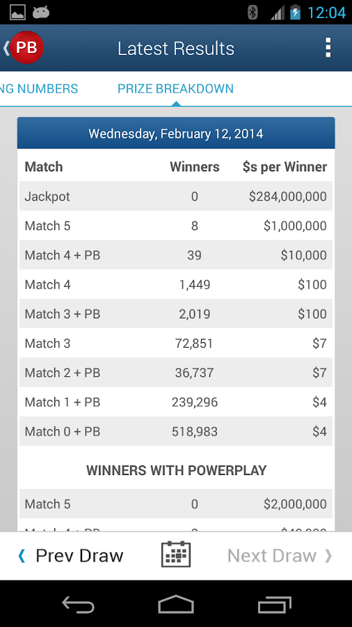 check powerball numbers photo - 1