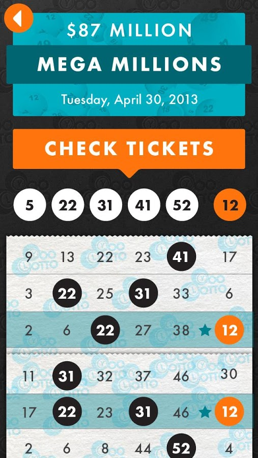 check powerball ticket scan photo - 1