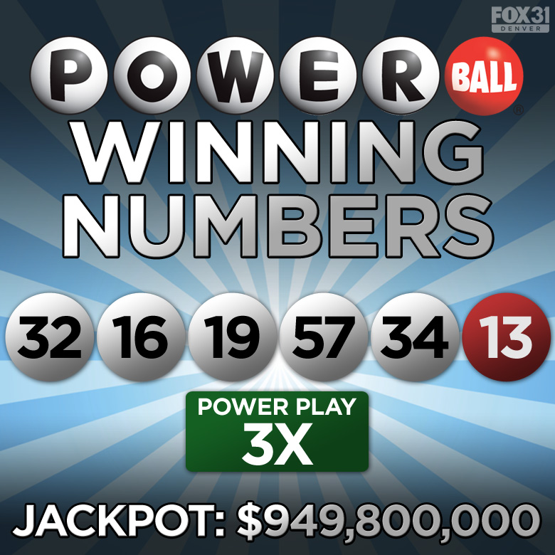 Colorado lottery powerball winning numbers - powerball