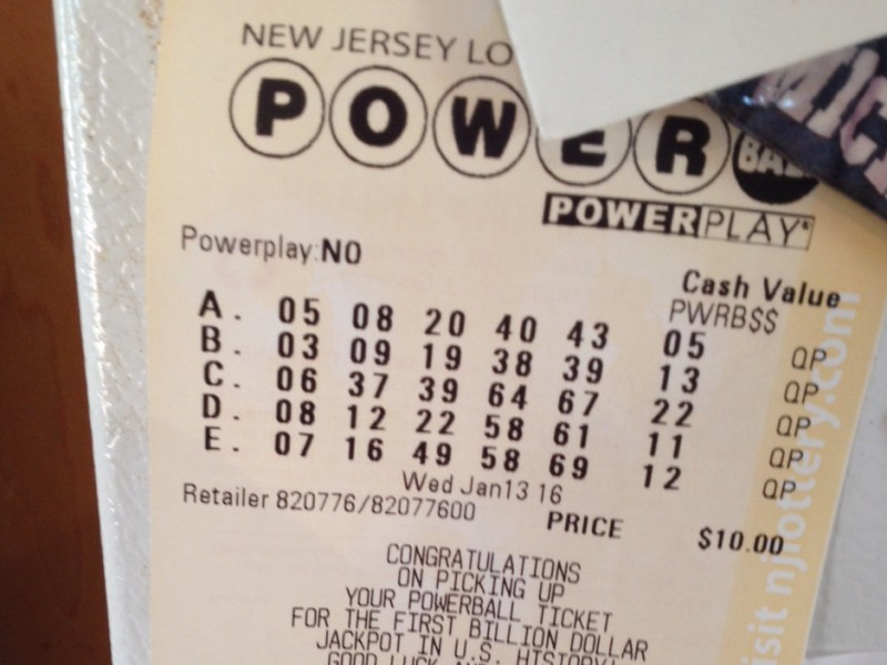 enter powerball numbers to see if i won photo - 1