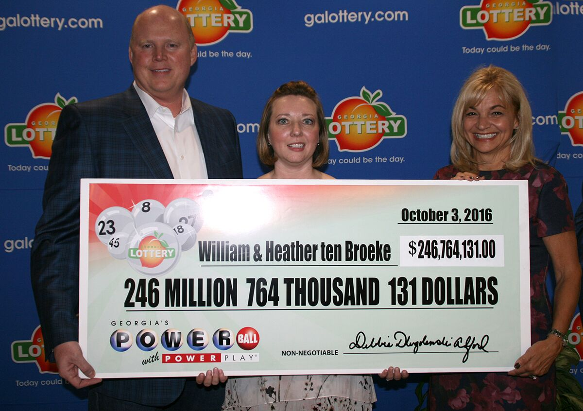 ga powerball winner photo - 1