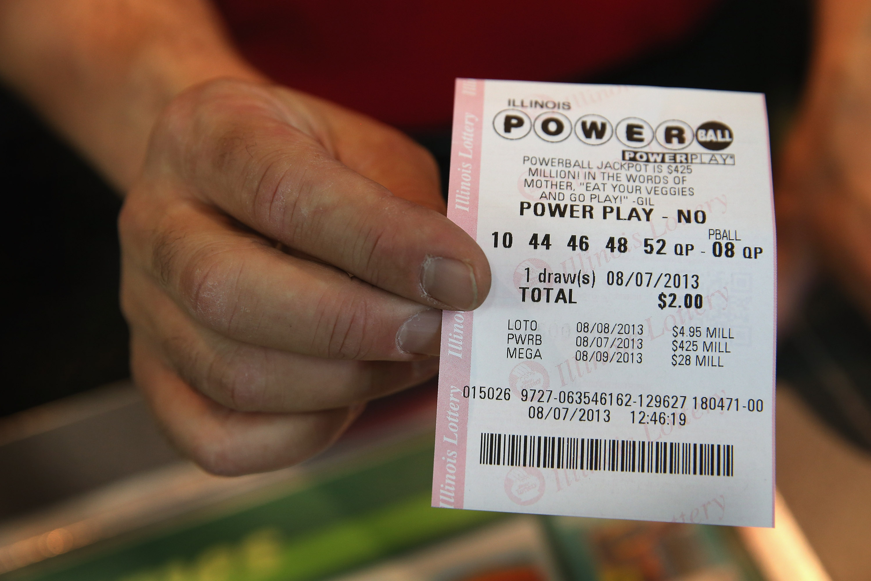 how high do powerball numbers go photo - 1