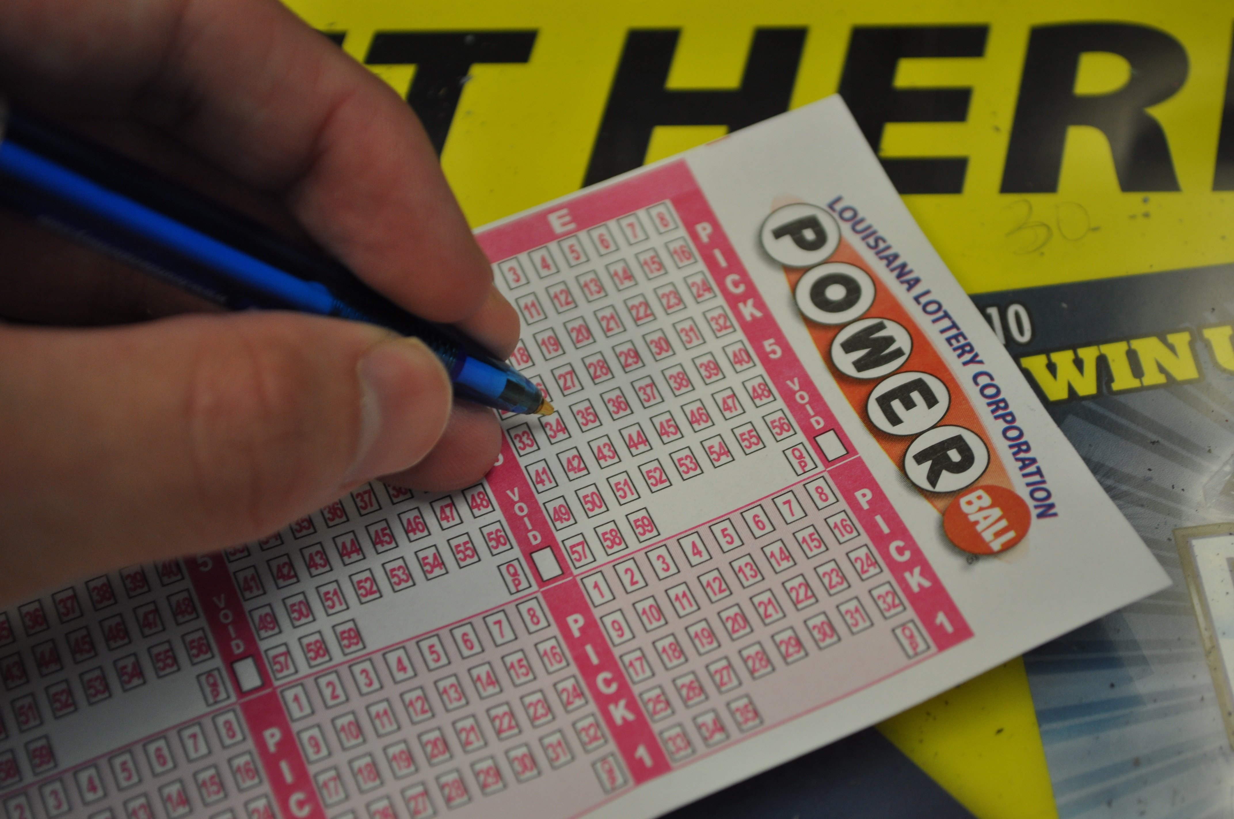 how high does the powerball number go photo - 1