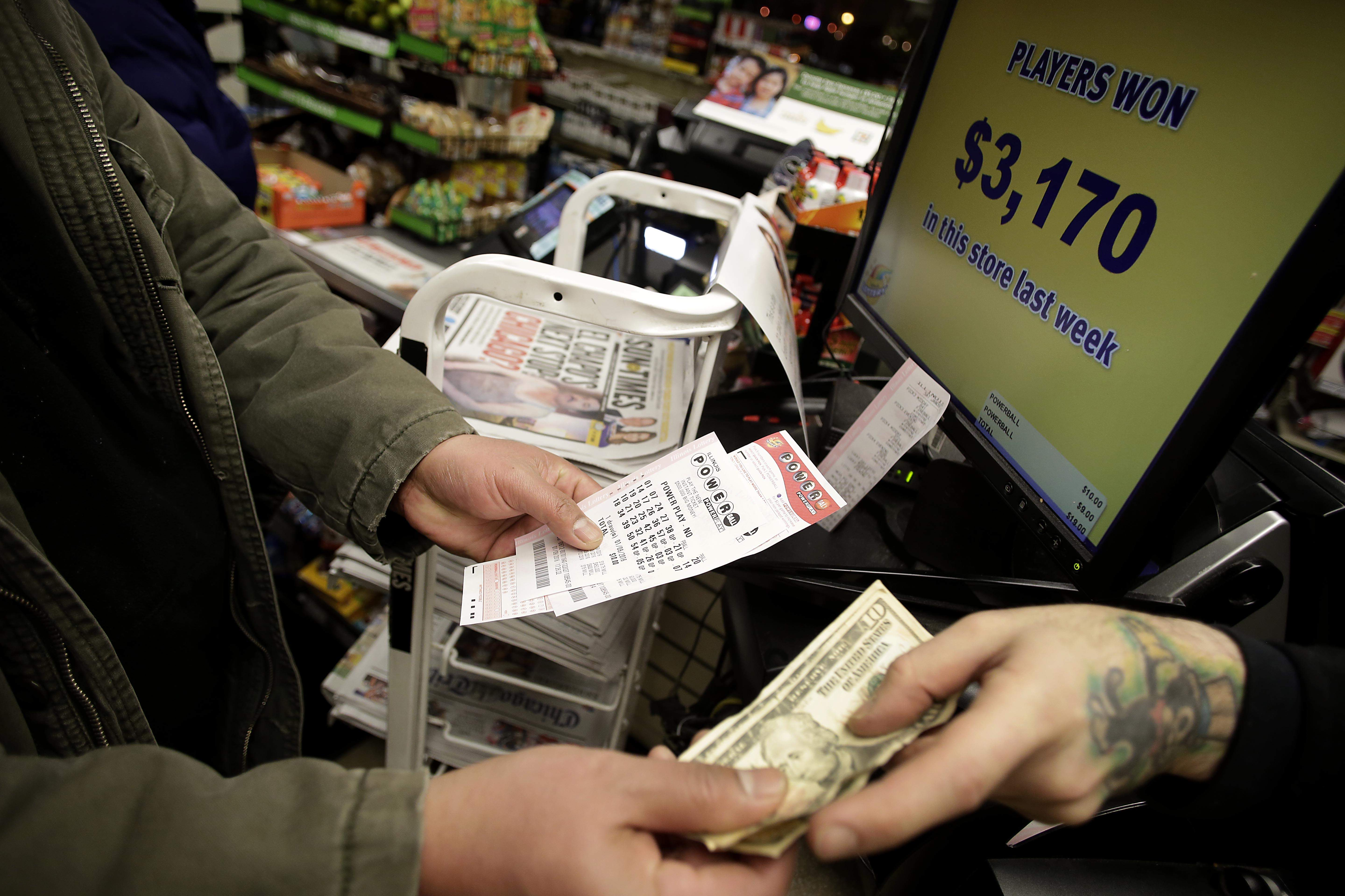 how much is the powerball number worth tonight photo - 1