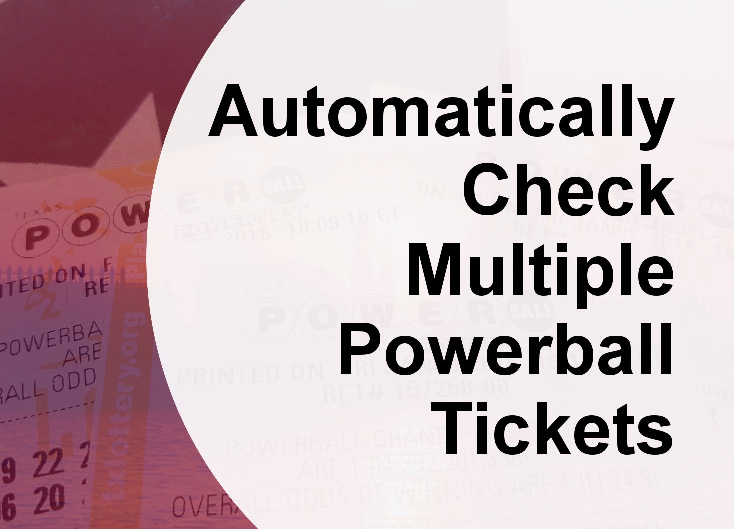 how to check powerball tickets photo - 1
