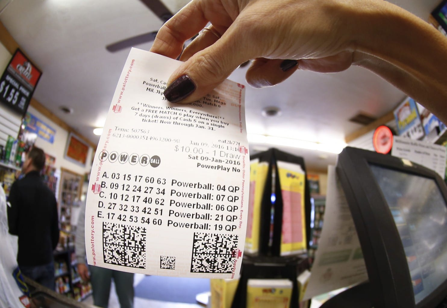 is the powerball rigged photo - 1