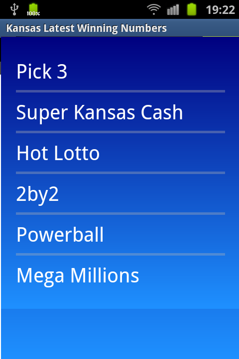 kansas lottery powerball winning numbers photo - 1