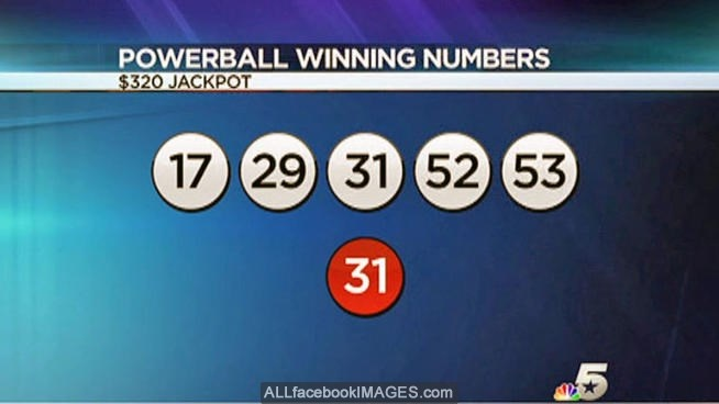 latest powerball winning numbers photo - 1
