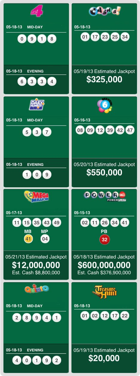 lottery powerball numbers today photo - 1