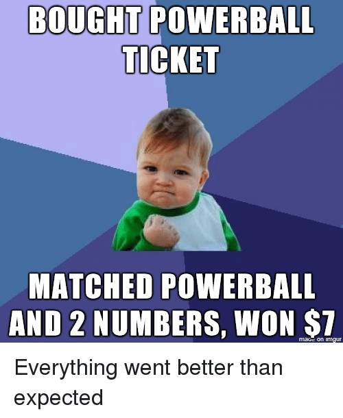 matched 2 powerball numbers photo - 1