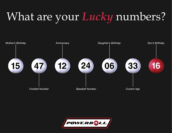 my lucky numbers for powerball photo - 1