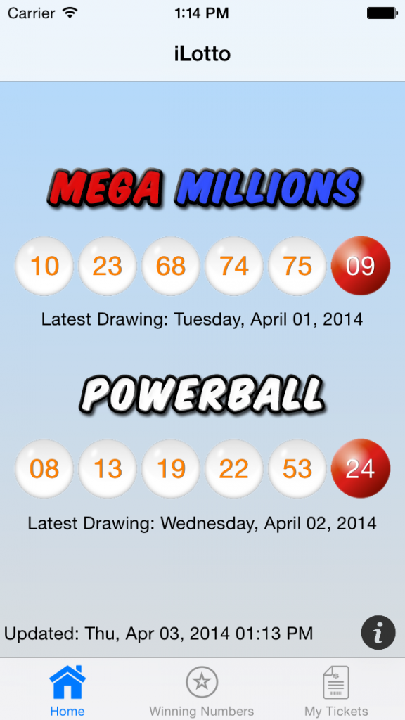 past powerball winning numbers photo - 1