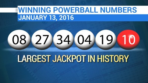 past winning powerball numbers photo - 1