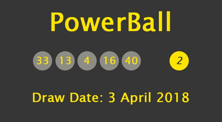powerball april 7 2018 photo - 1