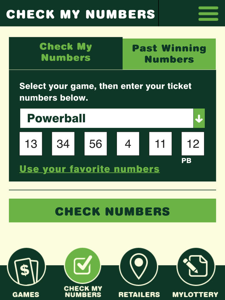 powerball check your numbers photo - 1