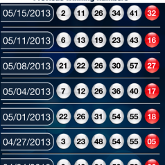 powerball frequent numbers photo - 1
