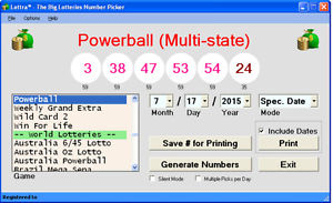 powerball number picker photo - 1