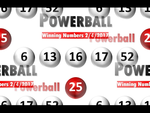 powerball numbers feb 4 2017 photo - 1