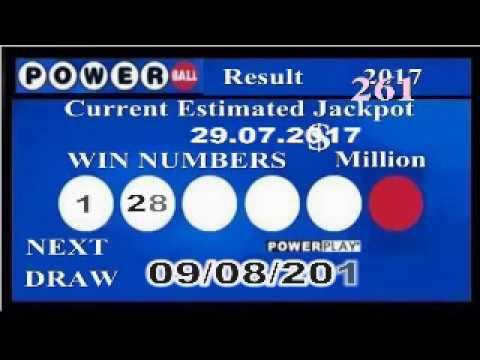 powerball numbers july 29 2017 photo - 1