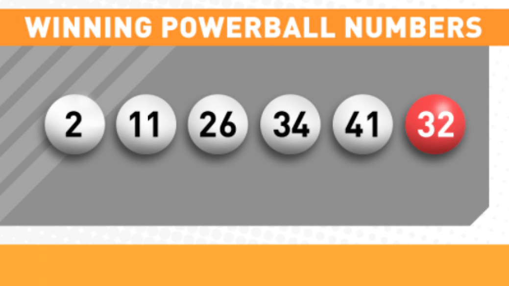 powerball results for tonight photo - 1