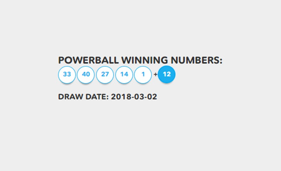 powerball results march 14 2018 photo - 1