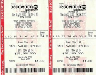 powerball texas lotto photo - 1