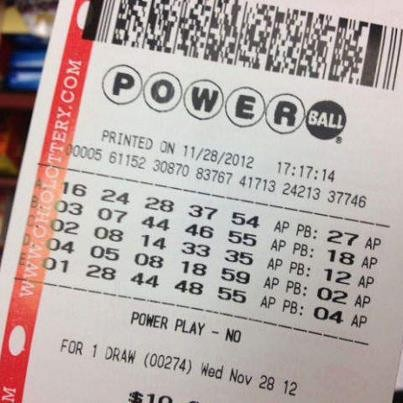 powerball ticket photo - 1