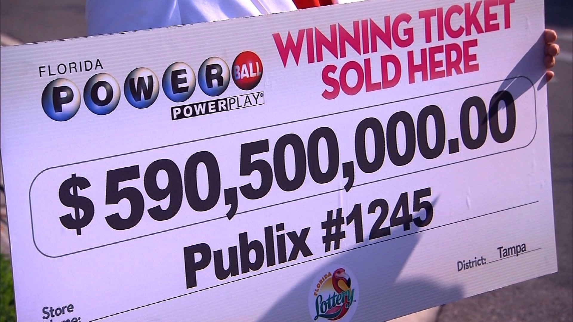 powerball ticket sold photo - 1