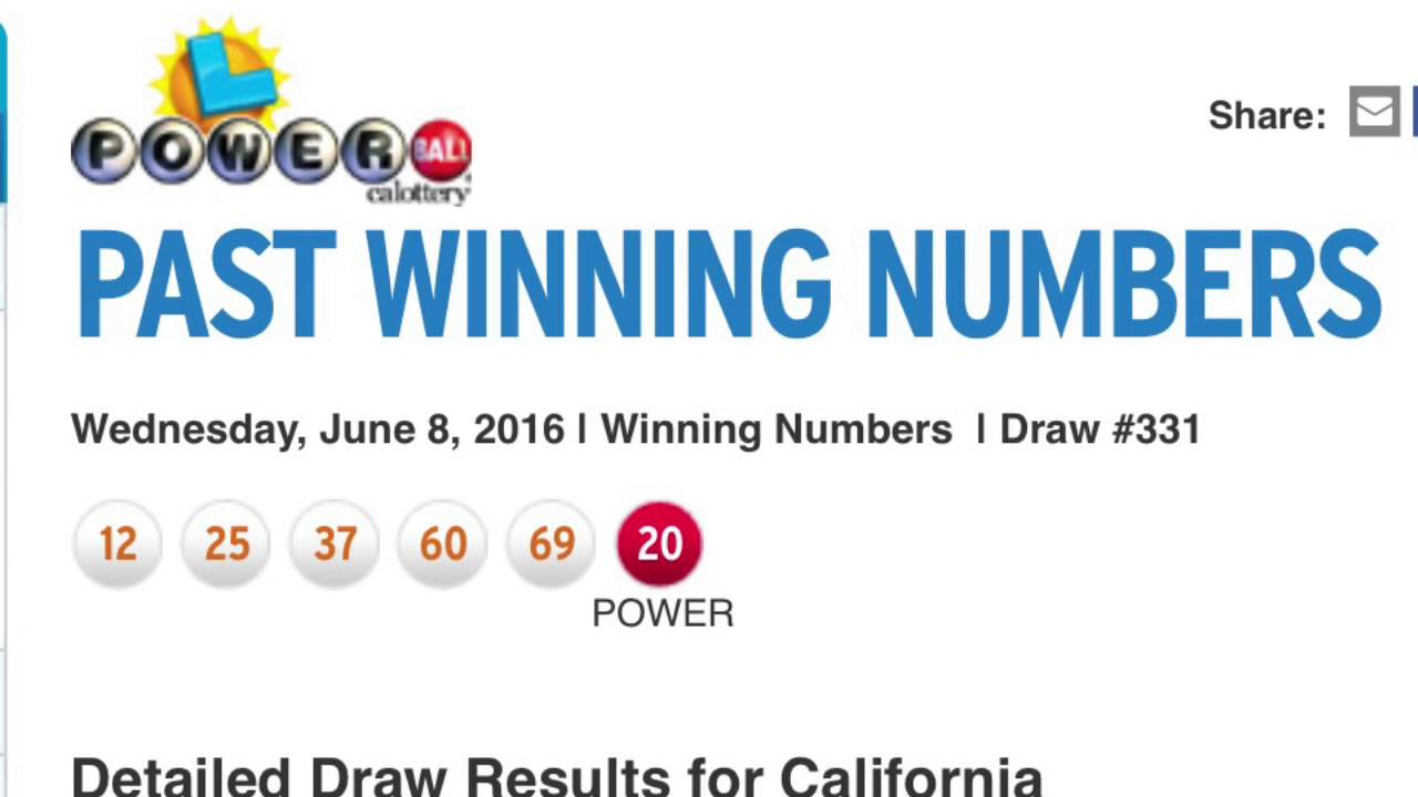 powerball winning number search photo - 1