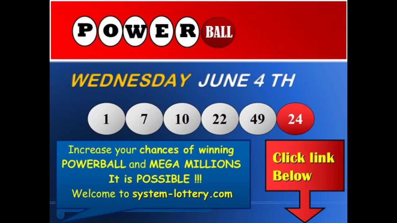 powerball winning numbers for wednesday photo - 1