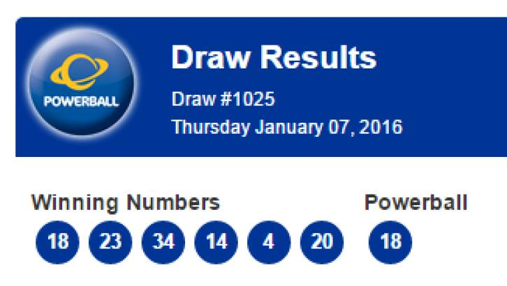 Powerball Winning Numbers History Powerball