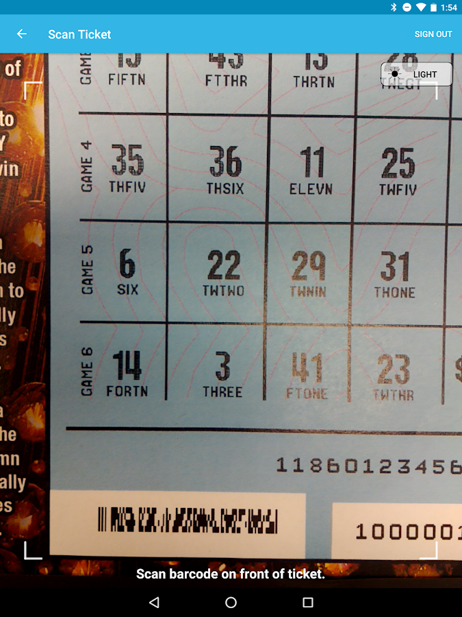scan powerball tickets photo - 1