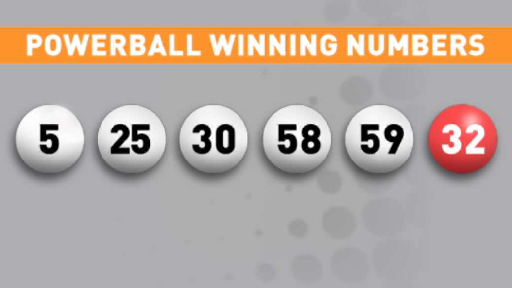 two numbers on powerball ticket photo - 1