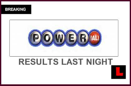 was the powerball won last night photo - 1