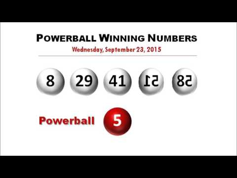 wednesday powerball results photo - 1