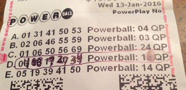 what days do they draw powerball photo - 1