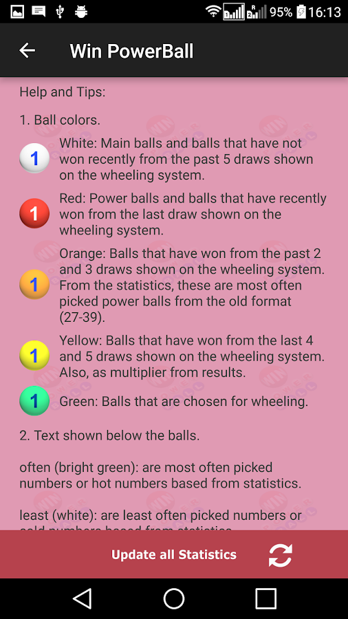 what is the number range for powerball photo - 1
