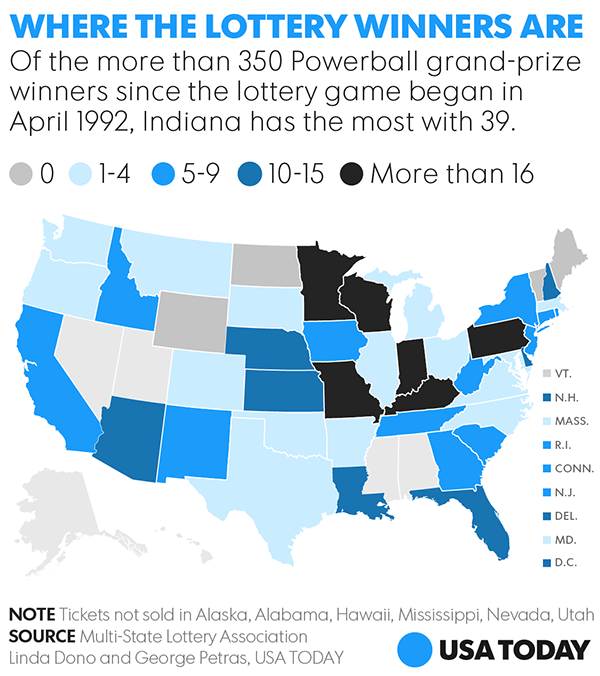 what states dont have powerball photo - 1